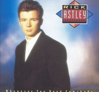 "Rick Astley ""Together Forever"""